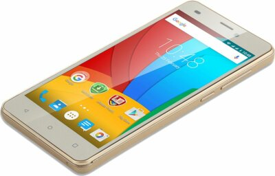 Смартфон Prestigio MultiPhone 3507 Wize N3 Dual Gold 4