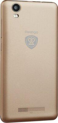 Смартфон Prestigio MultiPhone 3507 Wize N3 Dual Gold 5