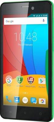 Смартфон Prestigio MultiPhone 3507 Wize N3 Dual Green 2