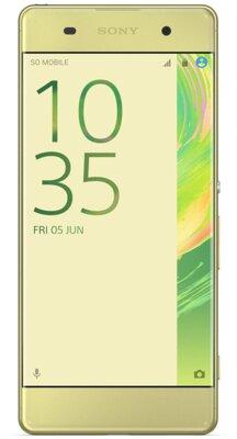 Смартфон Sony Xperia XA Dual F3112 Lime Gold 1
