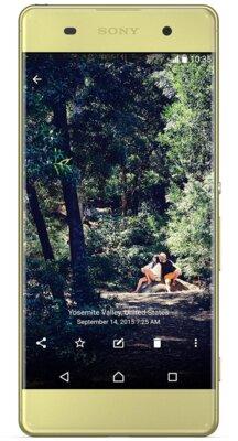 Смартфон Sony Xperia XA Dual F3112 Lime Gold 2
