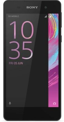 Смартфон Sony Xperia E5 F3311 Black 1