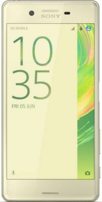 Смартфон Sony Xperia X F5122 Lime Gold 1