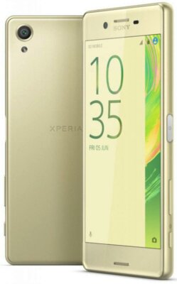 Смартфон Sony Xperia X F5122 Lime Gold 3