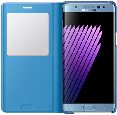 Чехол Samsung S View Cover EF-CN930PYEGRU Blue для Galaxy Note 7 2