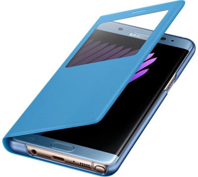 Чехол Samsung S View Cover EF-CN930PYEGRU Blue для Galaxy Note 7 3