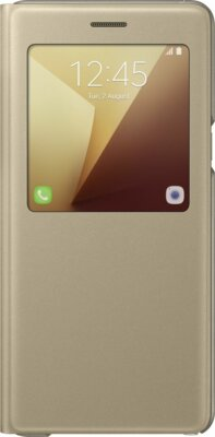 Чехол Samsung S View Cover EF-CN930PYEGRU Gold для Galaxy Note 7 1