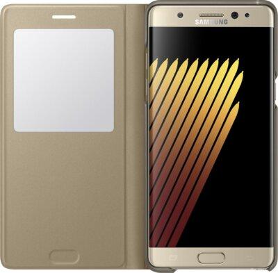 Чехол Samsung S View Cover EF-CN930PYEGRU Gold для Galaxy Note 7 2
