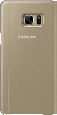 Чехол Samsung S View Cover EF-CN930PYEGRU Gold для Galaxy Note 7 4
