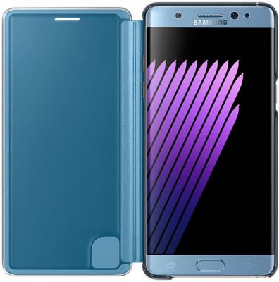 Чехол Samsung Clear View Cover EF-CN930PYEGRU Blue для Galaxy Note 7 3