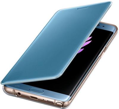 Чехол Samsung Clear View Cover EF-CN930PYEGRU Blue для Galaxy Note 7 4