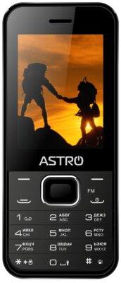 Мобильный телефон Astro A240 Black 1
