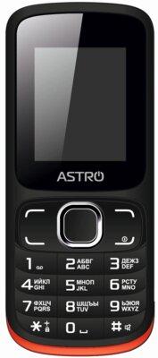 Мобільний телефон Astro A177 Black/Red 1