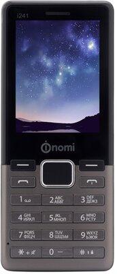 Мобільний телефон Nomi i241 Metal Dark-Grey 1
