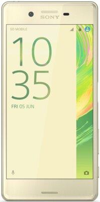 Смартфон Sony Xperia X Performance F8132 Lime Gold 1