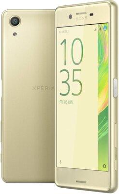 Смартфон Sony Xperia X Performance F8132 Lime Gold 4