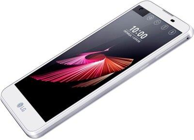 Смартфон LG K500ds X view White 2