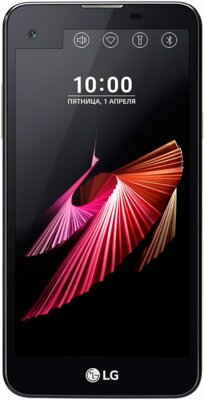 Смартфон LG K500ds X view Black 1