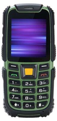 Мобільний телефон Nomi i242 X-treme Black-Green 1