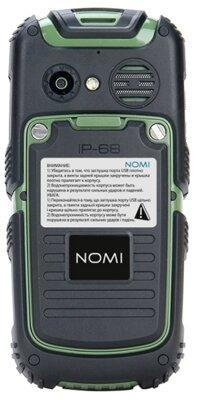 Мобільний телефон Nomi i242 X-treme Black-Green 2
