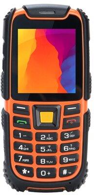 Мобільний телефон Nomi i242 X-treme Black-Orange 1