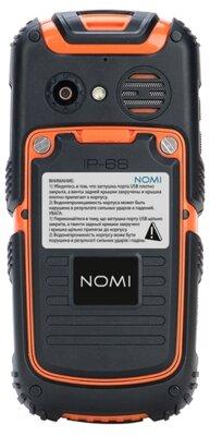 Мобільний телефон Nomi i242 X-treme Black-Orange 2