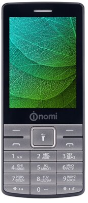 Мобильный телефон Nomi i280 Metal Dark-Grey 1