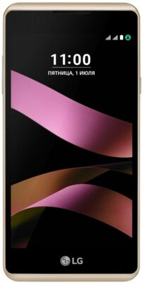 Смартфон LG K200 X style Gold 1