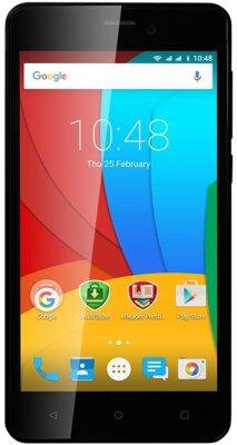 Смартфон Prestigio MultiPhone 3508 Wize P3 Dual Black 1