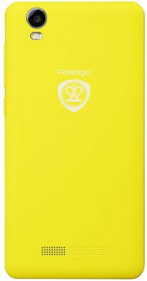 Смартфон Prestigio MultiPhone 3517 Wize NX3 Dual Yellow 2