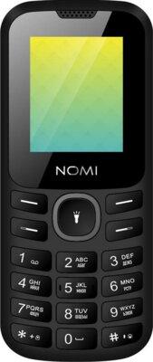 Мобільний телефон Nomi i184 Black-Grey 1