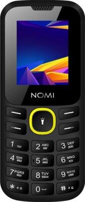 Мобільний телефон Nomi i184 Black-Yellow 1