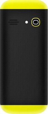 Мобільний телефон Nomi i184 Black-Yellow 2