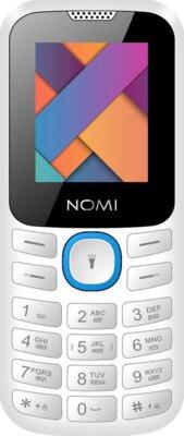 Мобильный телефон Nomi i184 White-Blue 1
