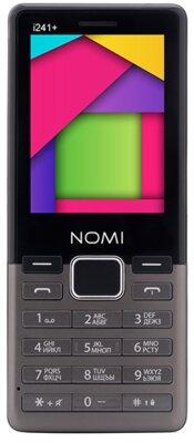 Мобильный телефон Nomi i241+ Metal Dark-Grey 1