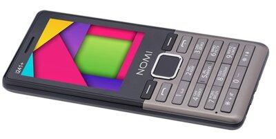 Мобильный телефон Nomi i241+ Metal Dark-Grey 8