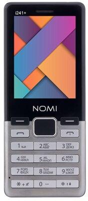 Мобильный телефон Nomi i241+ Metal Steel 1