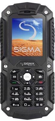 Мобільний телефон Sigma Х-treme IT67 Black 1