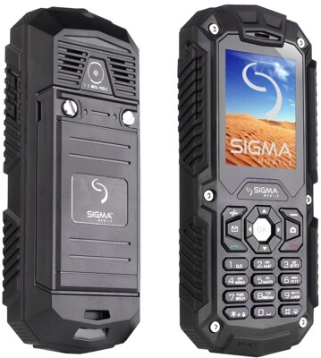 Мобільний телефон Sigma Х-treme IT67 Black 2
