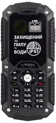 Мобільний телефон Sigma Х-treme IT67 Black 5