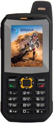 Мобільний телефон Sigma X-treme 3SIM Black-Orange 1