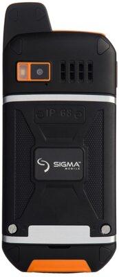 Мобільний телефон Sigma X-treme 3SIM Black-Orange 2