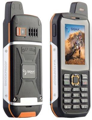 Мобільний телефон Sigma X-treme 3SIM Black-Orange 3