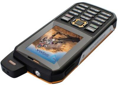 Мобільний телефон Sigma X-treme 3SIM Black-Orange 4