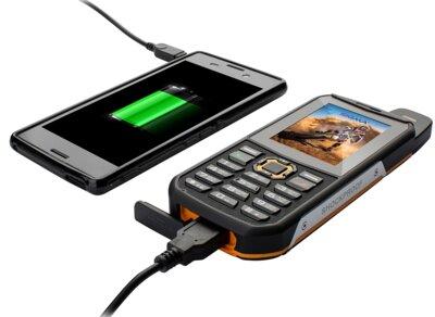 Мобільний телефон Sigma X-treme 3SIM Black-Orange 5