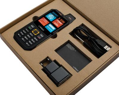 Мобільний телефон Sigma X-treme 3SIM Black-Orange 6