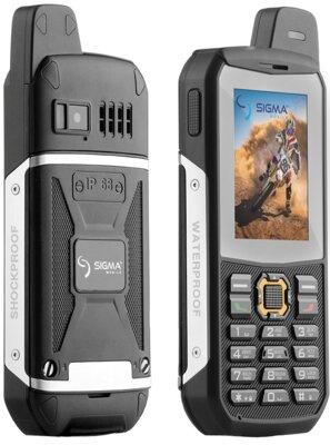 Мобільний телефон Sigma X-treme 3SIM Black 3