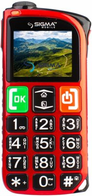 Мобильный телефон Sigma Comfort 50 Light Dual SIM Red 1