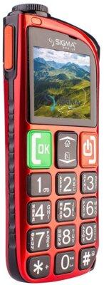 Мобильный телефон Sigma Comfort 50 Light Dual SIM Red 3