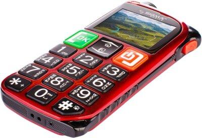 Мобильный телефон Sigma Comfort 50 Light Dual SIM Red 4